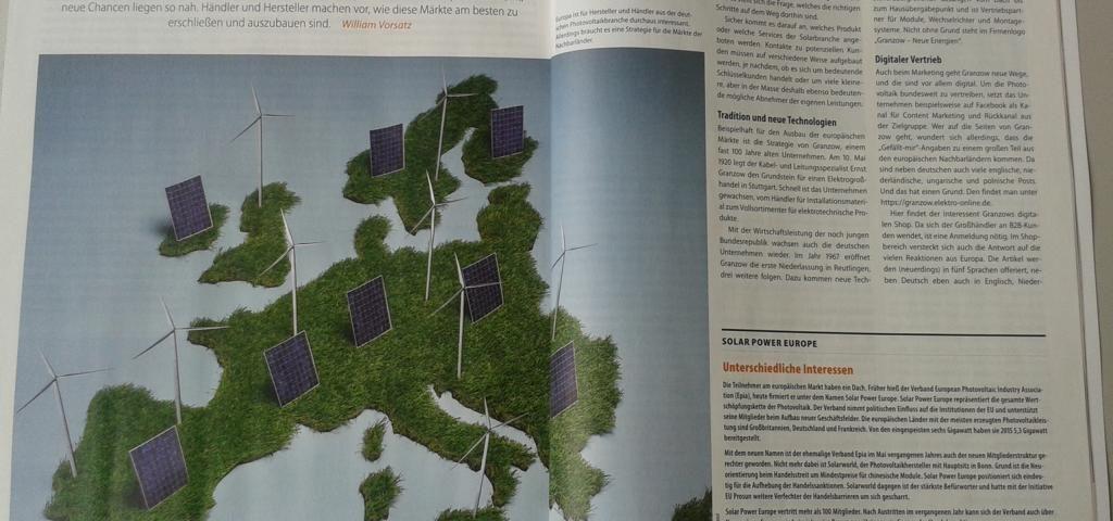 Granzow Photovoltaik Europa