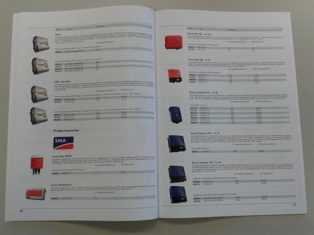 Granzow Photovoltaik Katalog Wechselrichter
