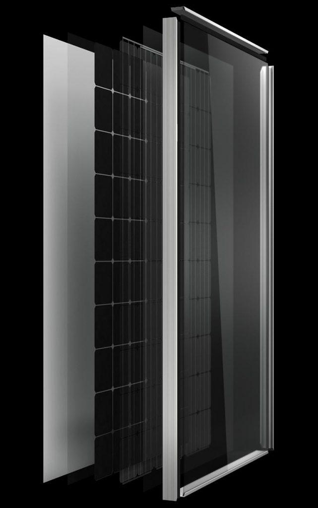 Aleo Solar Modul Aufbau S19_300 Watt