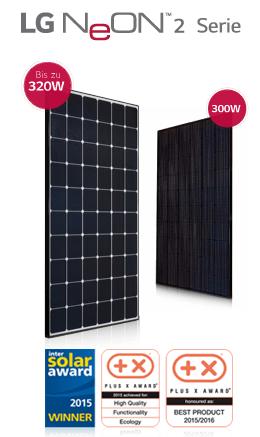 LG Solar Modul LG320N1C-L4 und LG300N1K-G4