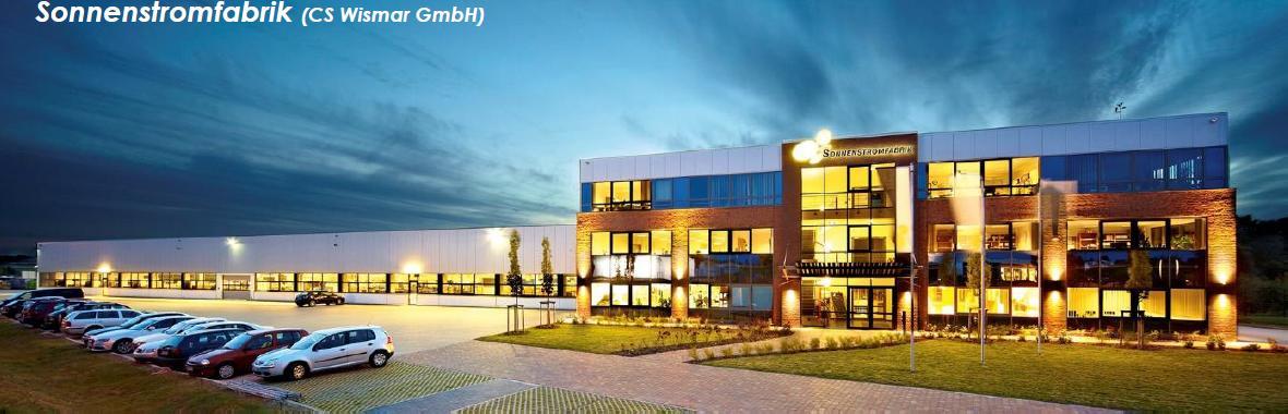 Sonnenstromfabrik CS Wismar GmbH