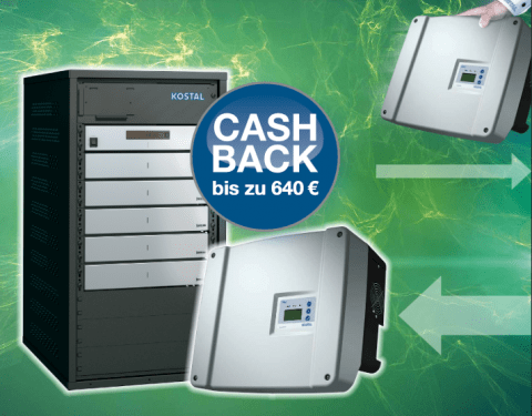 KOSTAL Cash Back-Aktion PIKO BA