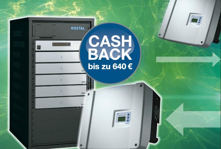 KOSTAL Cash Back-Aktion PIKO BA