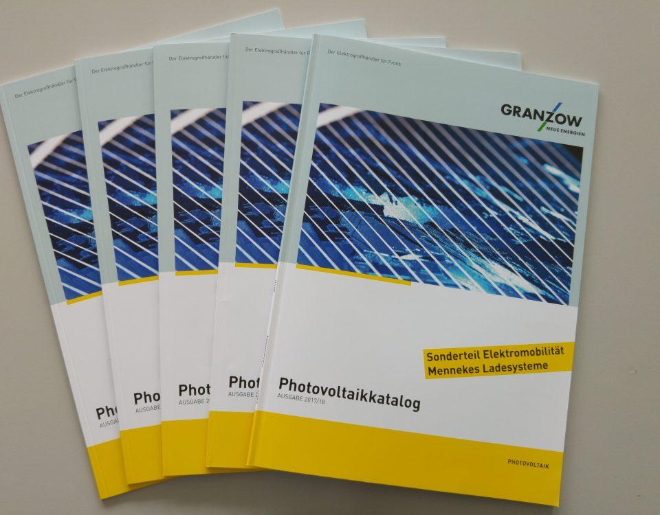 Granzow Photovoltaik Katalog 2017 2018